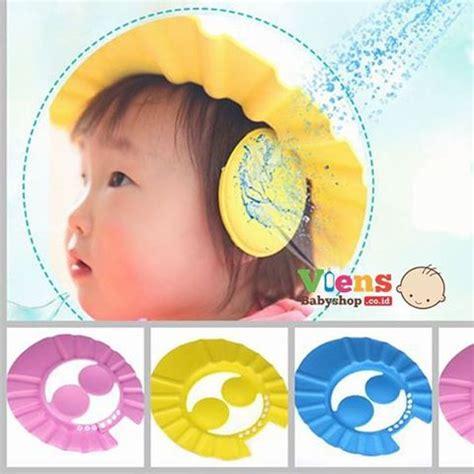 Dijamin Topi Keramas Anak Baby Shower Cap topi keramas penutup telinga shower cap ibuhamil