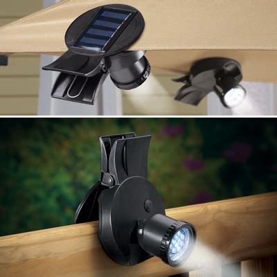 solar clip on lights weather resistant solar clip on light from collections etc