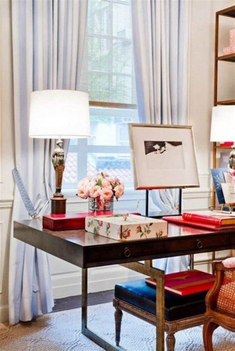 chic home office desk feminine home office decor ideas comfydwelling com