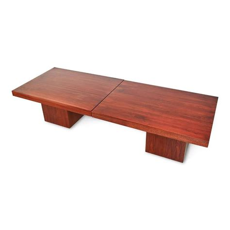 extendable coffee table john keal walnut extendable coffee table for brown saltman