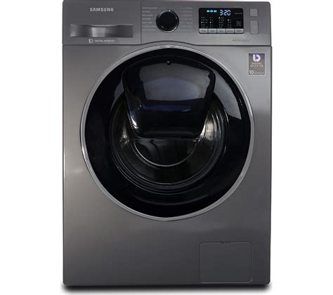 buy samsung addwash ww90k5410ux eu washing machine graphite free delivery currys