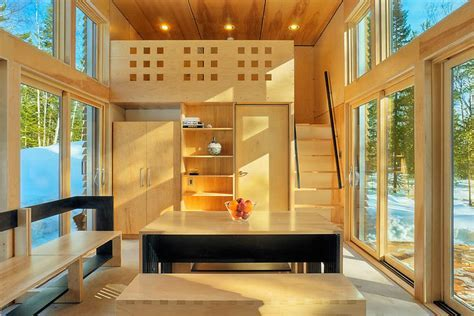 Elegant Small Prefab Green Home With Functional Design