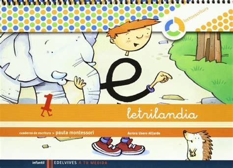 libro mi cuaderno montessori cuaderno de escritura 1 pauta montessori p 250 blico libros