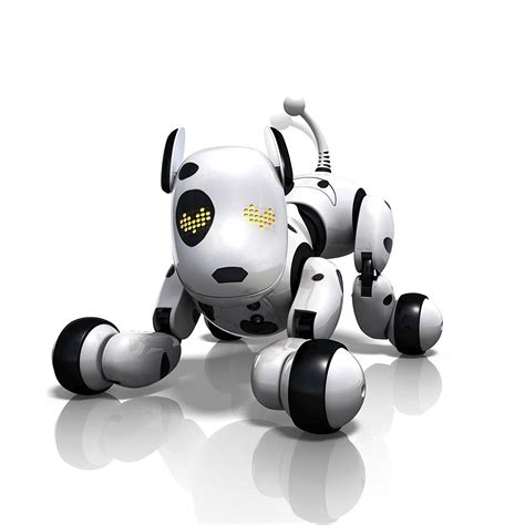 zoomer dogs pin robot on