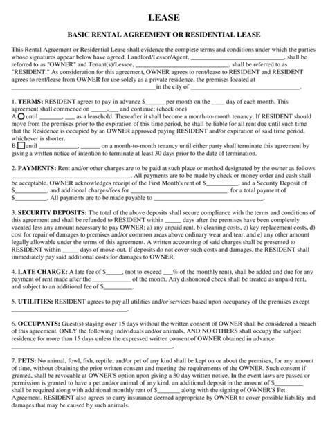 free georgia gross commercial lease agreement pdf word lease agreement template ga free georgia gross commercial