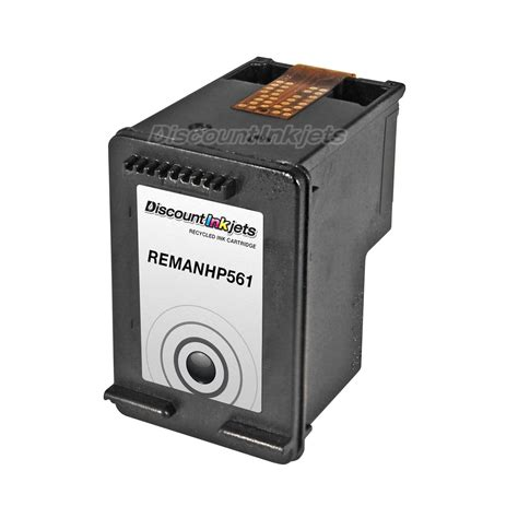 Hp Hp 1000 1441tu Black ch561wn black printer reman ink cartridge for hp 61 hp61