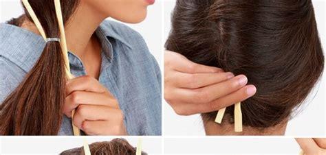 Chopstick Hairstyle by Make A Twist Hairstyle Using Chopsticks Alldaychic