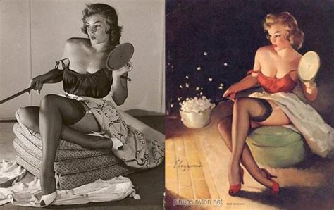 gil elvgren s pin up queens 18 real women behind famous