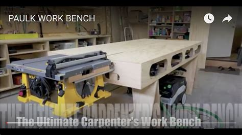 paulk work bench youtube