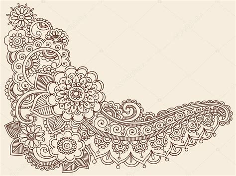henna tattoo vector arabescos on paisley paisley pattern and hindus