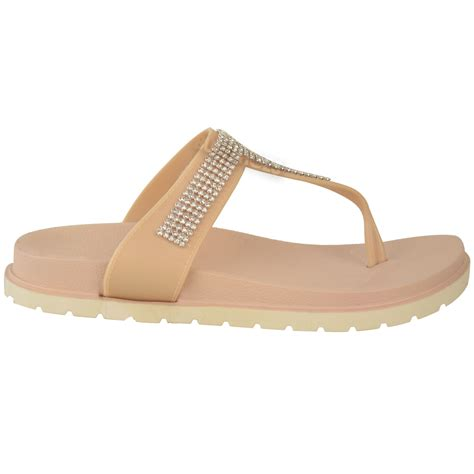 are jelly sandals comfortable womens summer jelly sandals diamante wedge