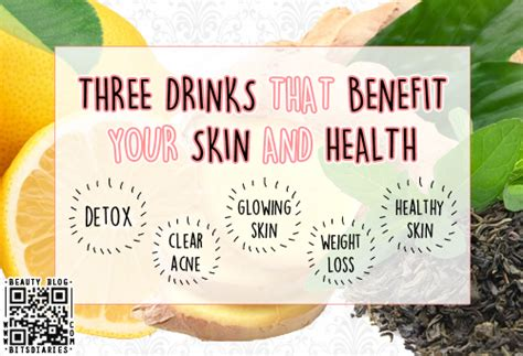 Skin Detox Diet Acne by 3 Drinks That Benefit Your Skin Health Detox Clear