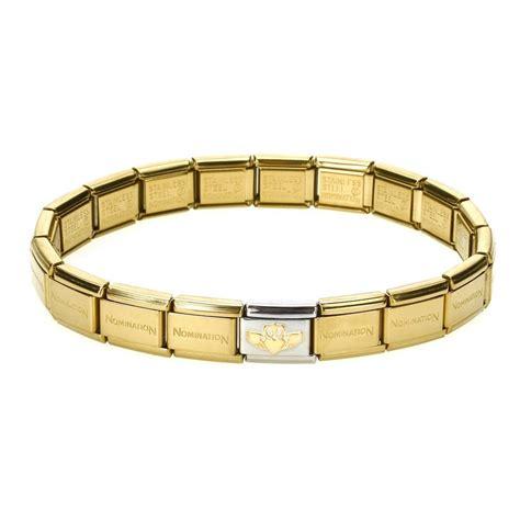 nomination gold is forever complete bracelet