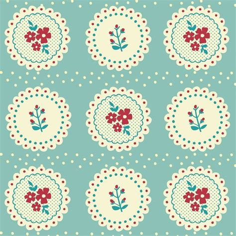 Wrapping Paper - 5 sheets of vintage doily design wrapping paper