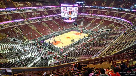 section 305 united center united center section 305 chicago bulls rateyourseats com
