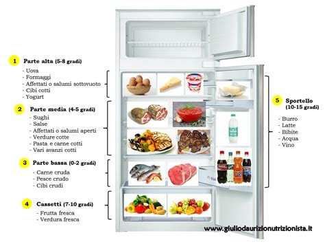 conservazione degli alimenti in frigo come conservare gli alimenti nel frigorifero giulio d