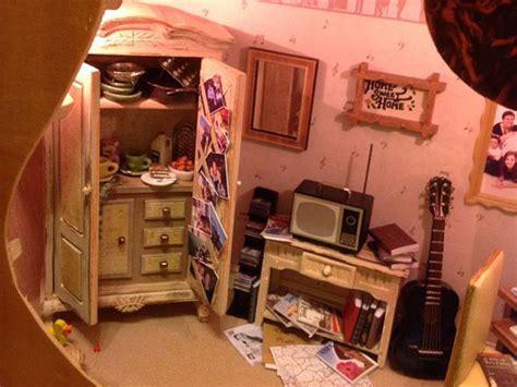 dollhouse chords builds a dollhouse inside a guitar for