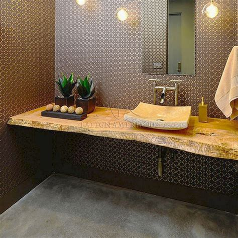 mensole x bagno mensola rustica da bagno in legno massello luana