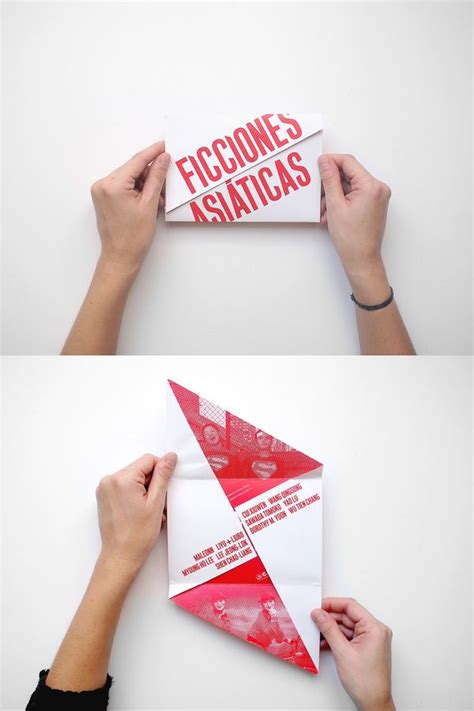 How To Fold Paper Into Brochure - 1000 ideas about brochure paper on brochures