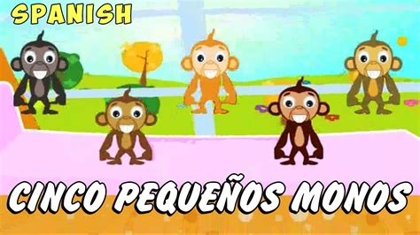 imagenes groseras en la cama cinco peque 241 os monos canciones infantiles five little