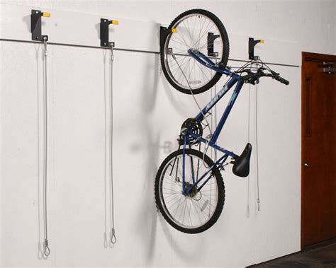 bike rack garage wall bicycle wall rider hanging bike storage bracket wirecrafters