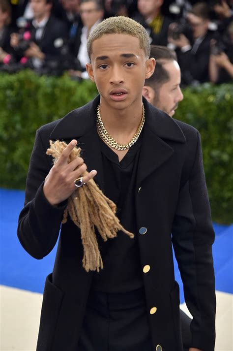 Smith High And On by Jaden Smith With Cut Hair In At 2017 Met Gala