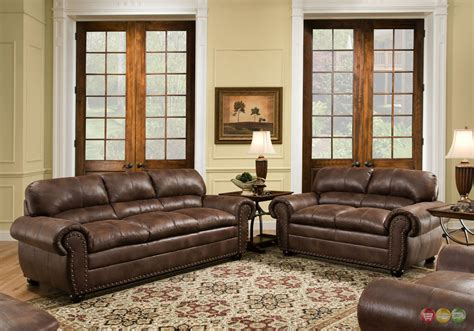 Chocolate Brown Living Room Sets Padre Chocolate Brown Living Room Furniture Set W