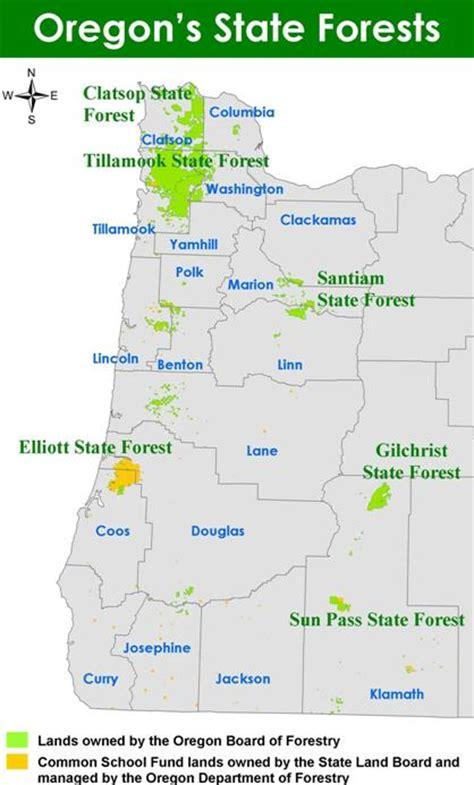 map of oregon forests trad 183 ing h 244 rs tr d ng n negotiation