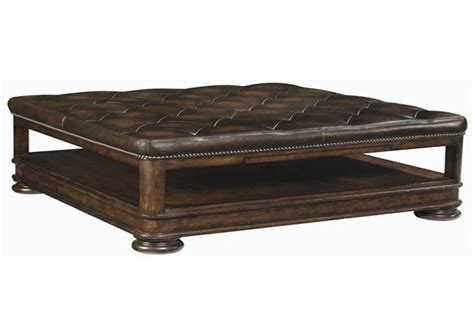 Leather Coffee Table The Luxury And Concepts Of Leather Ottoman Coffee Table