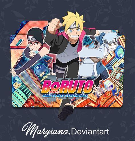 boruto icon boruto naruto next generation folder icon by margiano on