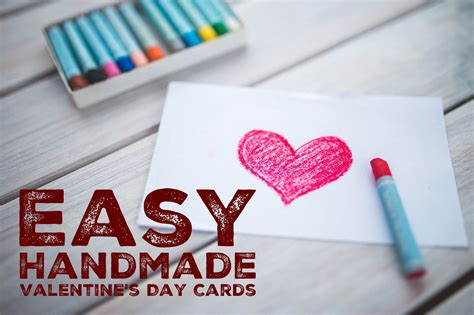 valentines build a how to make s day cards infocard co