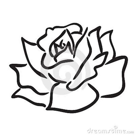 how to draw doodle roses simple pencil and in color simple