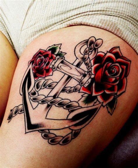 tattoo zona rosa 101 tatuajes femeninos de anclas con significado