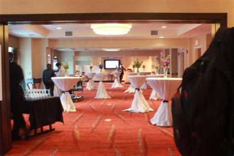 garden inn falls church the reception room to the function area picture of
