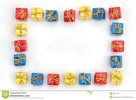 it gifts gift frame stock image image of background ornaments