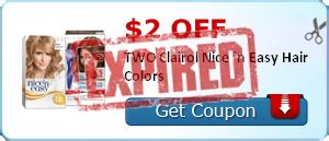 wegmans coupon deal clairol herbal essences shoo or free make up hair care coupons freebie depot