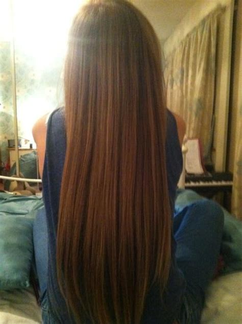 long straight smooth hair long hairstyles how to