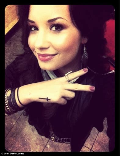 demi lovato new tattoo demi new s demi lovato photo 22813909 fanpop