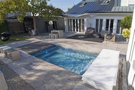 Kleiner Pool Garten