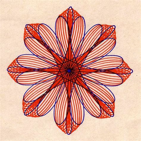 spirograph pattern booklet spirograph shapes grids principles maths pinterest