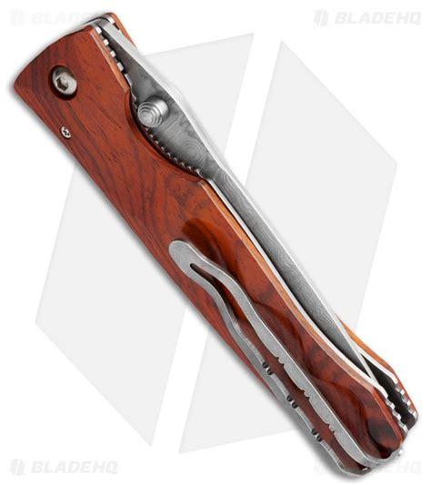 mcusta tactility mcusta tactility knife seki japan cocobolo wood damascus mc 122d blade hq