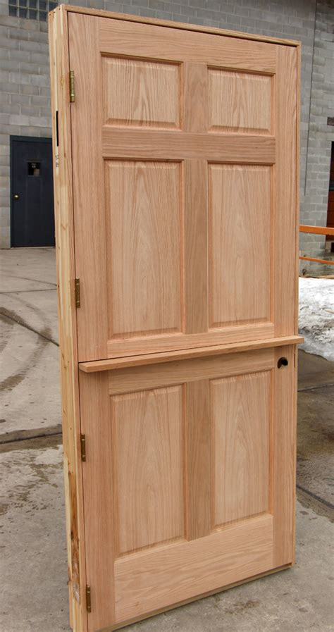Interior Dutch Door Home Depot oak interior dutch door with shelf