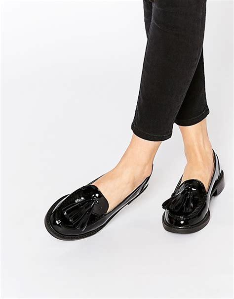 Harga Sepatu Balet Fladeo monki monki patent tassel loafers