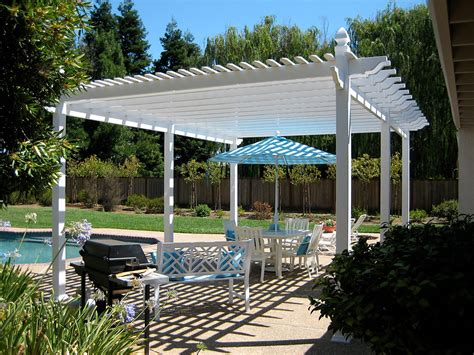 vinyl pergola materials fort collins colorado vinyl pergolas kits design cedar supply