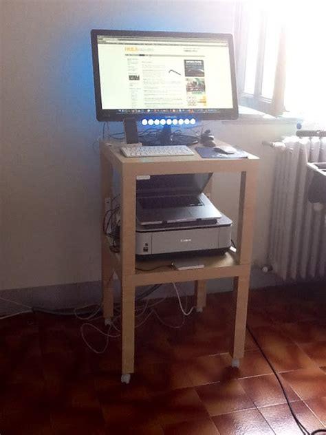 ikea lack standing desk on standing desk a lack desk add on ikea hackers