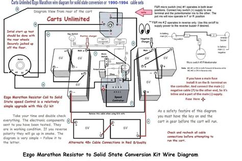 2000 ez go wiring diagram 36 volt electrical schematic