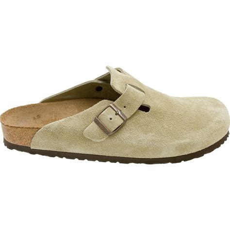 mens clog boots birkenstock boston suede clog s backcountry