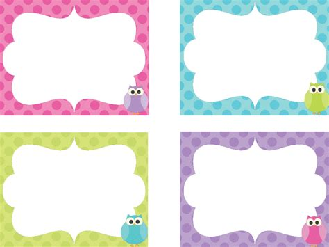 printable girly name tags mrs clarks fabulous first grade teaching ideas