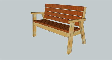 wooden park bench plans woodworking on flipboard