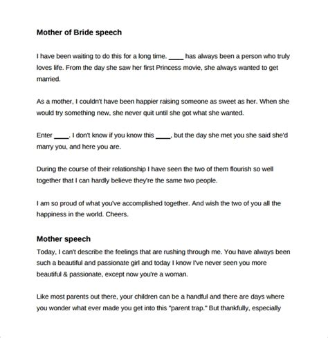 Sle Wedding Speech Exle 7 Free Documents Download In Pdf Groom Speech Template